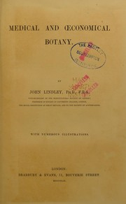 Cover of: Medical and economical botany