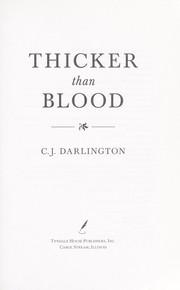 Cover of: Thicker than blood