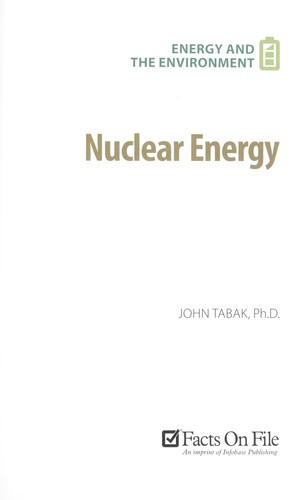 Nuclear energy by John Tabak