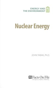 Cover of: Nuclear energy | John Tabak