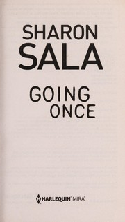Cover of: Going once