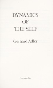 Cover of: Dynamics of the Self