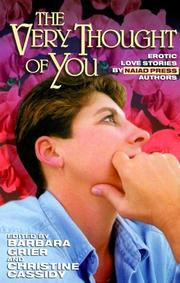Cover of: The very thought of you |