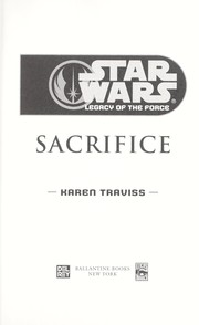 Cover of: Star Wars Legacy of the Force #5: Sacrifice
