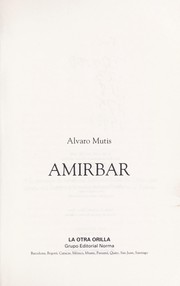 Cover of: Amirbar