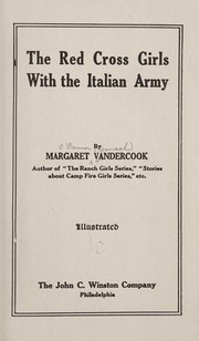 Cover of: The Red cross girls with the Italian army