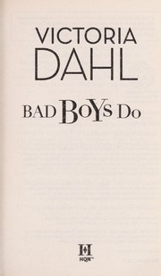 Cover of: Bad boys do