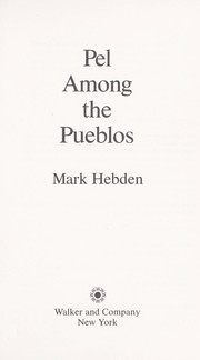 Cover of: Pel among the pueblos