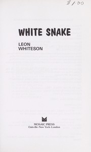 Cover of: White Snake