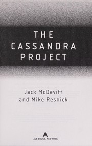 Cover of: The Cassandra project