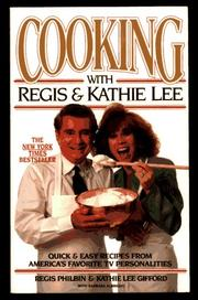 Cover of: Cooking with Regis & Kathie Lee