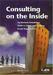 Cover of: Consulting on the inside
