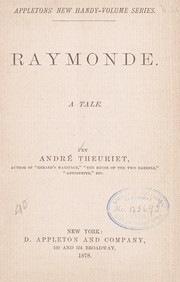 Cover of: Raymonde | AndrГ© Theuriet