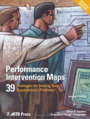 Cover of: Performance Intervention Maps