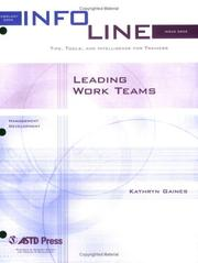 Cover of: Leading Work Teams