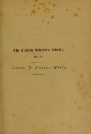 Cover of: Works 1608-1631
