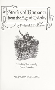 Cover of: Stories of romance from the Age of Chivalry