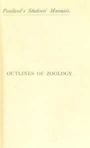 Cover of: Outlines of zoology | Thomson, John Arthur Sir