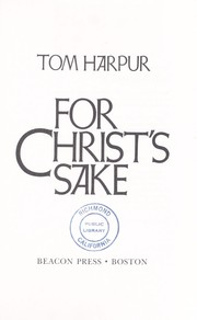 Cover of: For Christ
