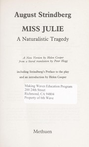 Cover of: Fröken Julie
