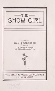 Cover of: The show girl