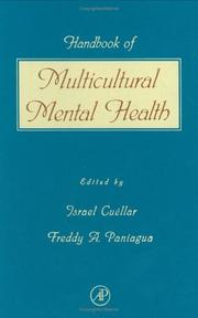 Handbook of multicultural mental health by Israel Cuéllar