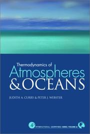 Cover of: Thermodynamics of atmospheres and oceans