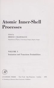 Cover of: Atomic inner-shell processes