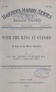 Cover of: With the king at Oxford