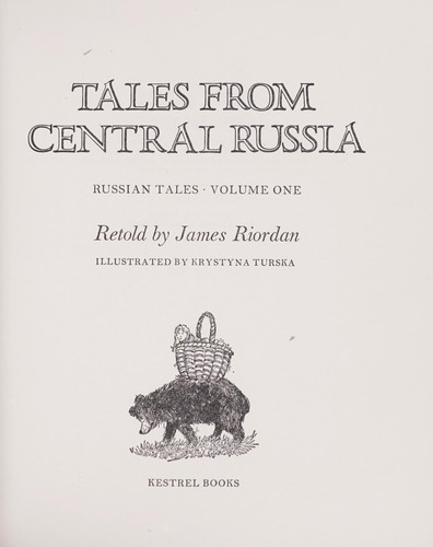 Tales from Central Russia by Riordan, James