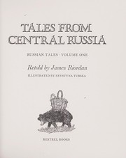 Cover of: Tales from Central Russia | Riordan, James