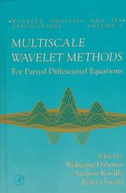 Cover of: Multiscale wavelet methods for partial differential equations |