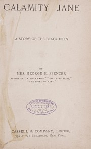Cover of: Calamity Jane | Spencer, George E. Mrs