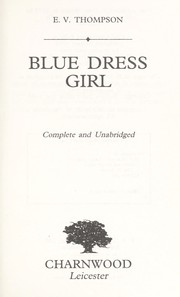 Cover of: Blue Dress Girl