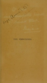 Cover of: The prescriber