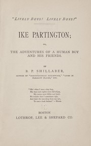 Cover of: Ike Partington | B. P. Shillaber