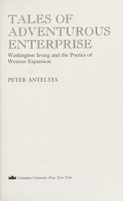 Cover of: Tales of adventurous enterprise