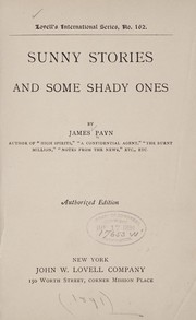 Cover of: Sunny stories and some shady ones