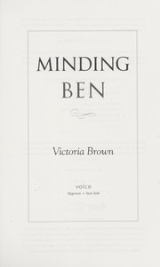 Cover of: Minding Ben