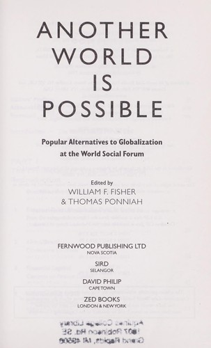 Another world is possible (2003 edition) | Open Library