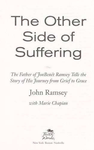 The other side of suffering by John Ramsey