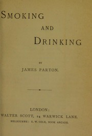 Cover of: Smoking and drinking