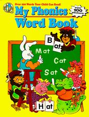 Cover of: My Phonics Word Book | Cass Hollander