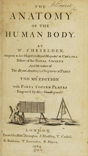 The anatomy of the humane body