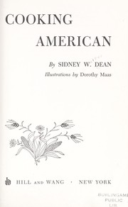 Cover of: Cooking American. | Sidney Walter Dean