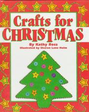 Cover of: Crafts for Christmas | Kathy Ross