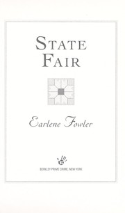 Cover of: State fair | Earlene Fowler