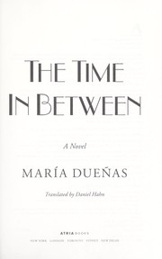 Cover of: The time in between