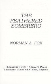 Cover of: The feathered sombrero