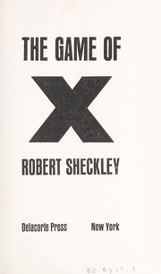 Cover of: The game of X